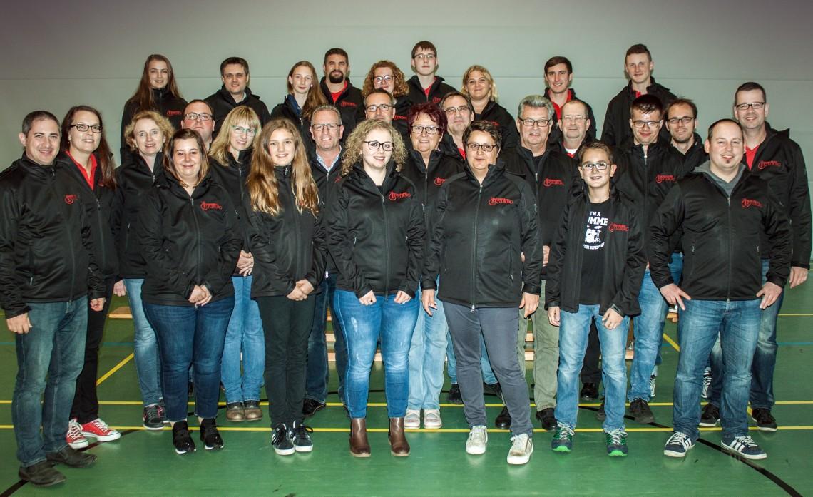 Gruppenfoto Musikverein Kyllburg 2017